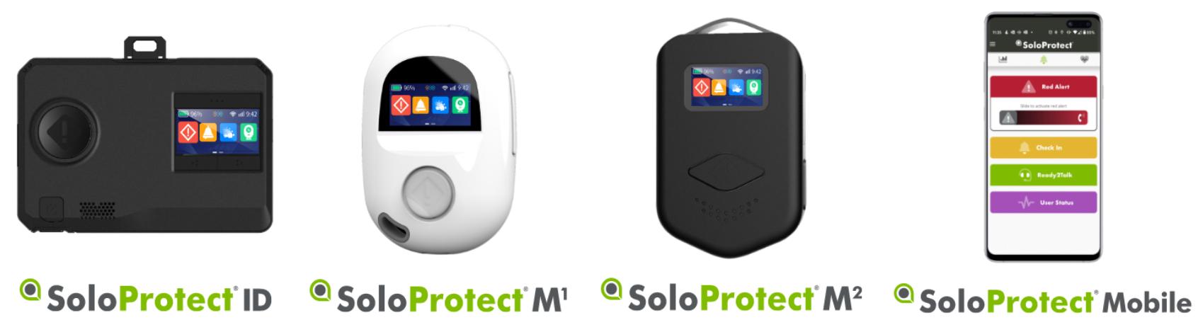 Alarmsystemen van SoloProtect (ID, M1, M2 en App)