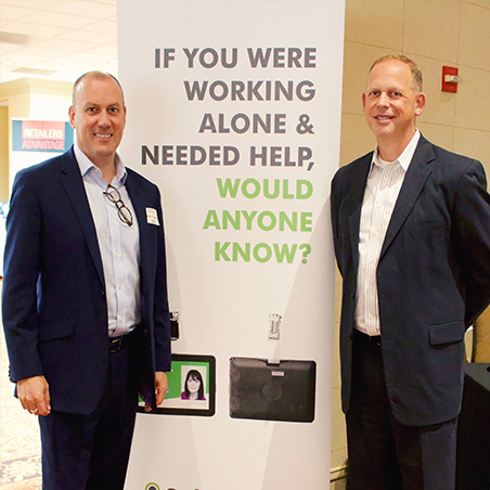 Craig Swallow and Conference Chair Christopher McDonald